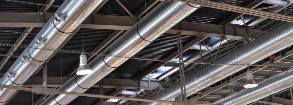 montare sisteme de ventilatie