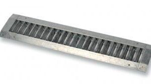Grila tubulatura circulara 425×75 mm