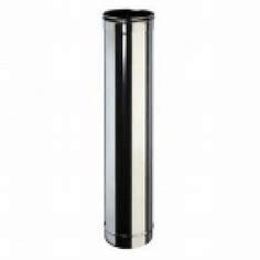 Tub diamterul 100 mm lungime 1000 mm  tabla inox luciu 0,5 mm