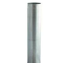 Tub diamterul 450 mm lungime 1250 mm  tabla inox 0,6 mm