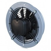Ventilator axial de perete cadru rotund evacuare 200 860 mc/h